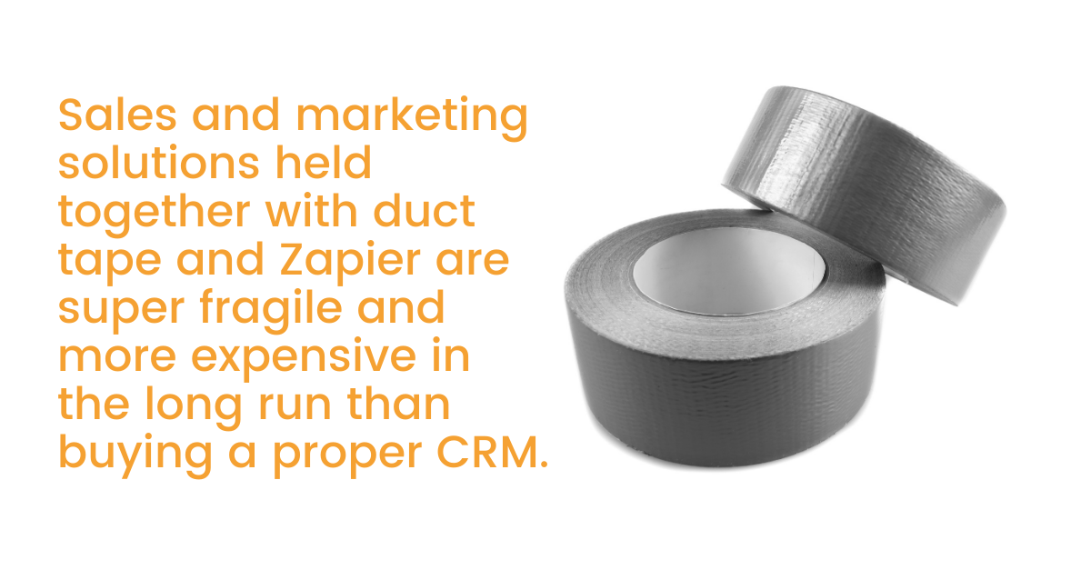 Marketing solutions and duct tape