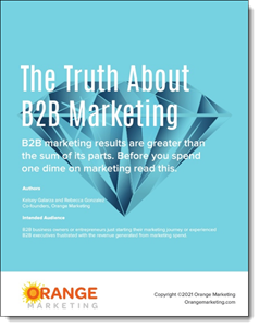The Truth About B2B Marketing Cover