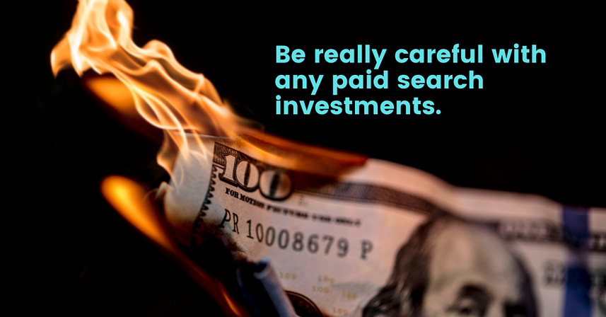 paid investments light money on fire